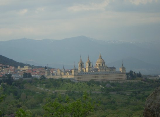 El Escorial desde la Silla de Felipe II