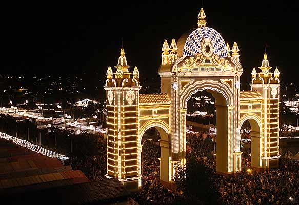 Portada de la Feria de Sevilla