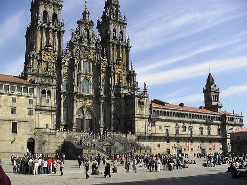 Las mejores plazas de Santiago de Compostela