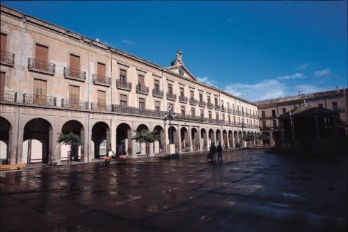 Plaza de fueros de Tafalla