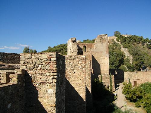 Gibralfaro y la Alcazaba, fortalezas en Malaga