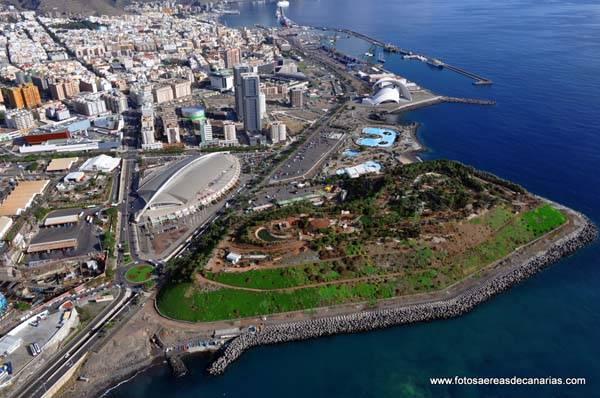 Santa Cruz de Tenerife vista aerea