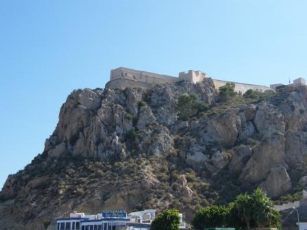 Castillo de San Juan en Aguilas