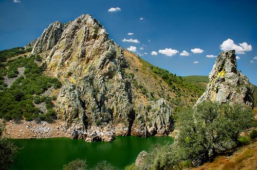 El Parque Nacional de Monfragüe en Cáceres