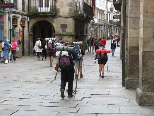 Rutas en España del Camino de Santiago