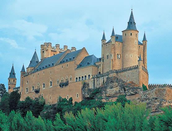El Alcázar de Segovia, historia y panorámicas