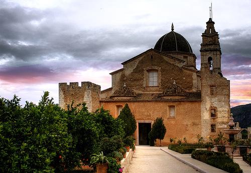 El Monasterio de Valldigna en Valencia