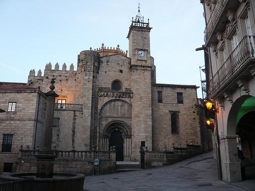 La Catedral de San Martiño en Ourense