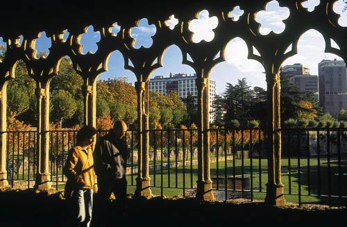 Los Jardines de la Taconera en Pamplona