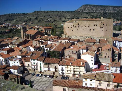 Mora de Rubielos, postal de invierno en Teruel