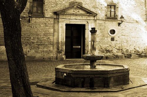 Plaza de San Felipe Neri en Barcelona
