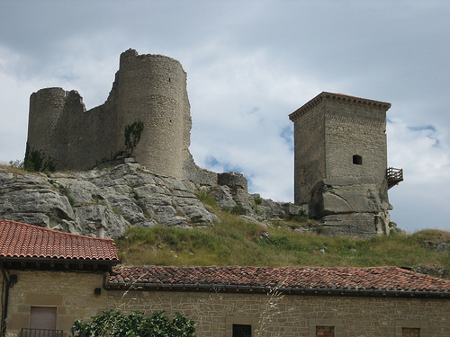 Santa Gadea del Cid, bella postal medieval