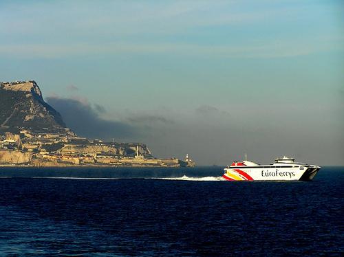 Ferry en Gibraltar
