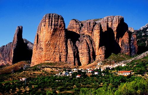 Los Mallos de Riglos en Huesca