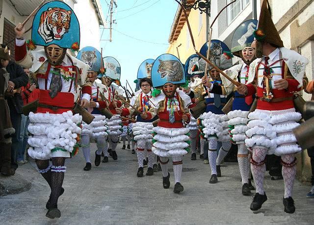 Peliqueiros Entroido Galicia