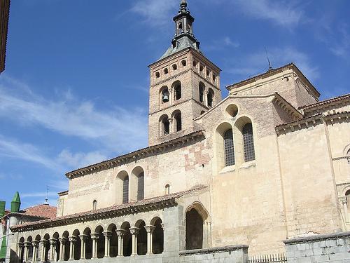La Iglesia de San Martín en Segovia