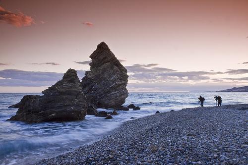 La Playa de El Molino de Papel en Nerja