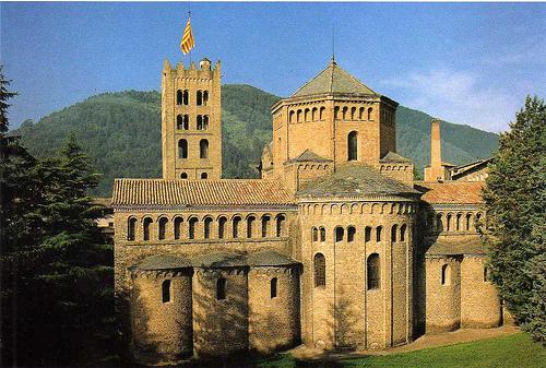 El Monasterio de Santa María de Ripoll en Gerona
