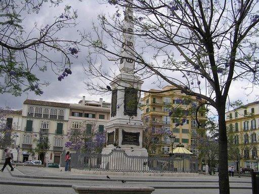 La Plaza de la Merced en Málaga