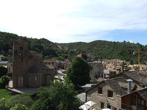 Santa Cruz de la Serós, románico en Aragón