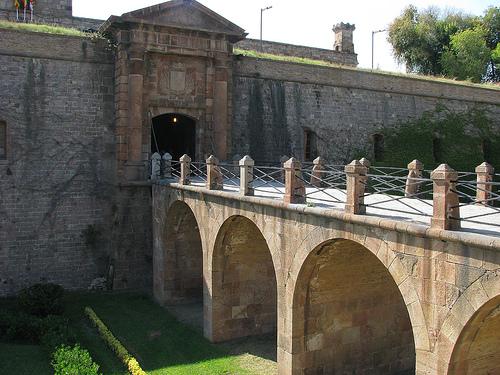 El Castillo de Montjuic en Barcelona