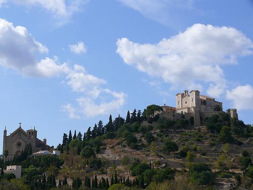 El Santuario de San Salvador en Mallorca