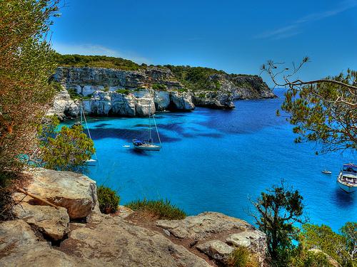 Cala Macarella, la cala más bonita de Menorca