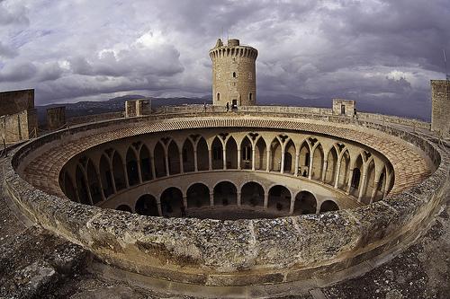 El Castillo de Bellver en Palma de Mallorca