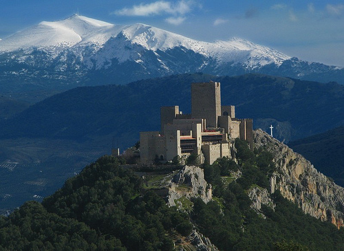 El Castillo de Santa Catalina en Jaén