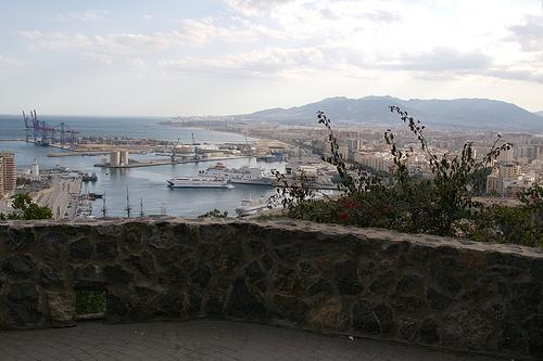 Vistas desde el Parador Gibralfaro