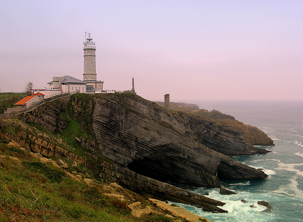 El Faro de Cabo Mayor, en Santander