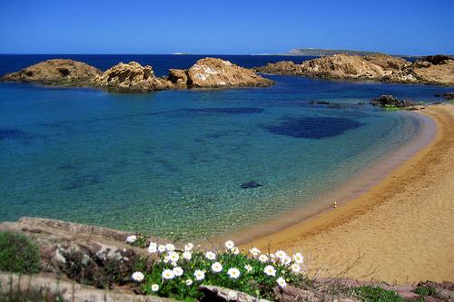 Cala de Pregonda en Menorca