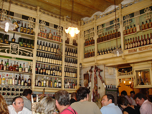 Bares y restaurantes en Sevilla