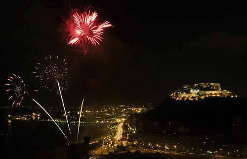 Las Hogueras de San Juan en Alicante