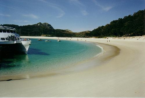 La Playa de Rodas y el paraíso de las Islas Cíes