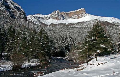 La Selva de Oza, en el pirineo aragonés