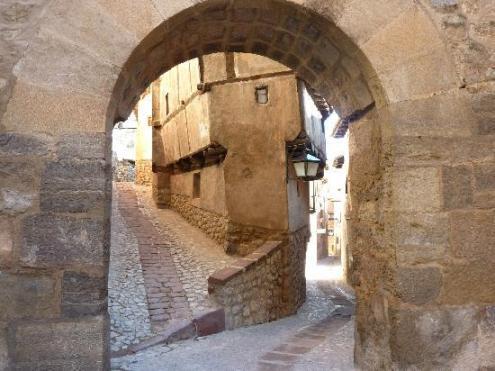 Albarracin, parada y fonda