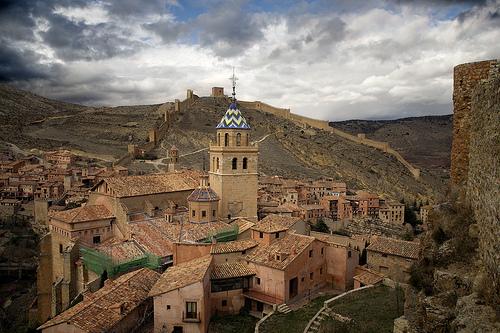 Albarracin, pueblo medieval en España