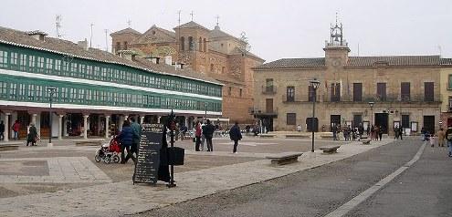 Almagro, del Parador al Corregidor