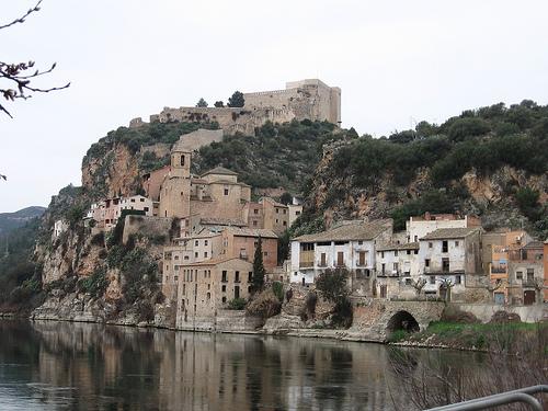 El Castillo de Miravet en Tarragona