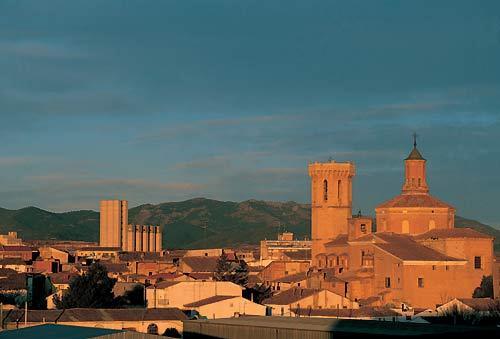 Cariñena, pueblo del vino Zaragozano