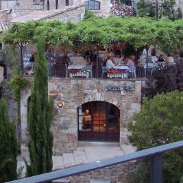 Restaurante Castell Vell en Tossa de Mar