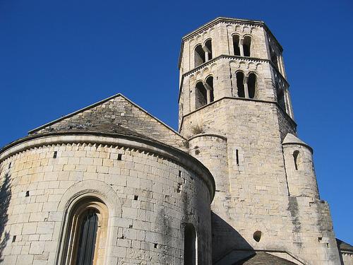 El Monasterio de Sant Pere de Galligants en Girona