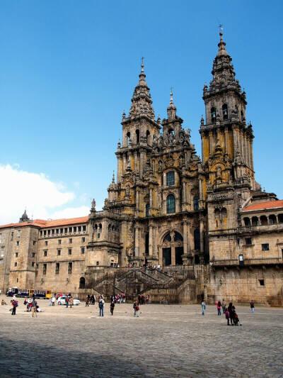 Santiago de Compostela, parada y fonda