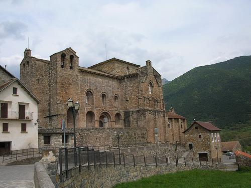 La aldea de Siresa, en Aragón