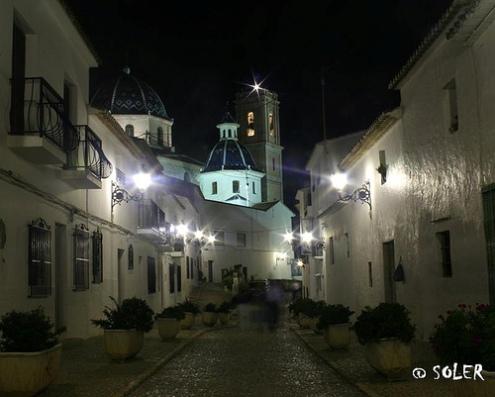 Altea, parada y fonda con encanto en Alicante
