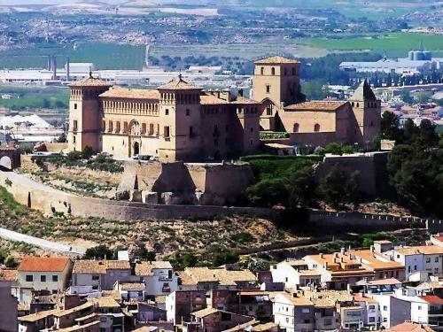 El Castillo de los Calatravos, en Alcañiz