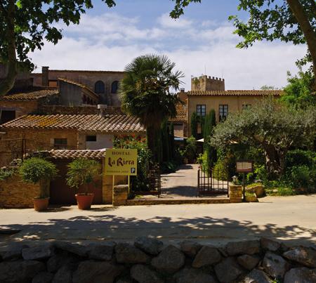 Hotel La Riera en Peratallada