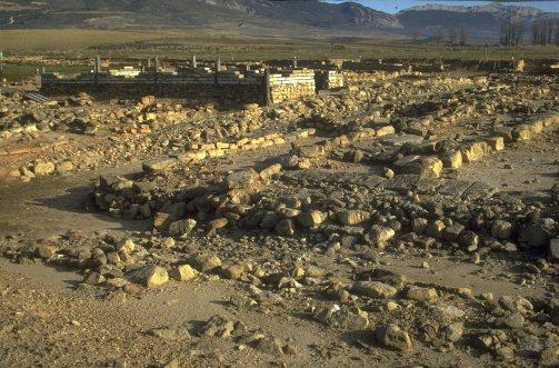 El poblado de La Hoya, en Laguardia