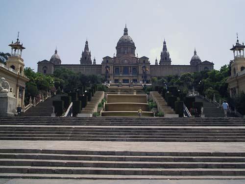 Museo Nacional de Arte de Catalunya en Barcelona